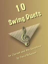 David McKeown  Sheet Music 10 Swing Duets for Clarinet and Alto Saxophone Song Lyrics Guitar Tabs Piano Music Notes Songbook