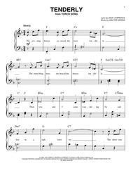Tenderly sheet music