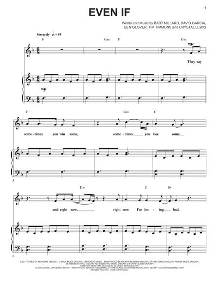 Download Digital Sheet Music of EUPHONIUM for Piano, Vocal and Guitar