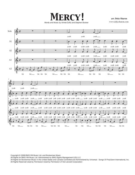 Duffy sheet music to download and print - World center of digital ...