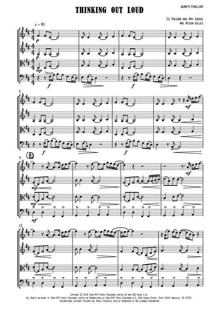 Download Digital Sheet Music of Ed Sheeran for String