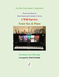 """I Will Survive"" for Tenor Sax and Piano sheet music"