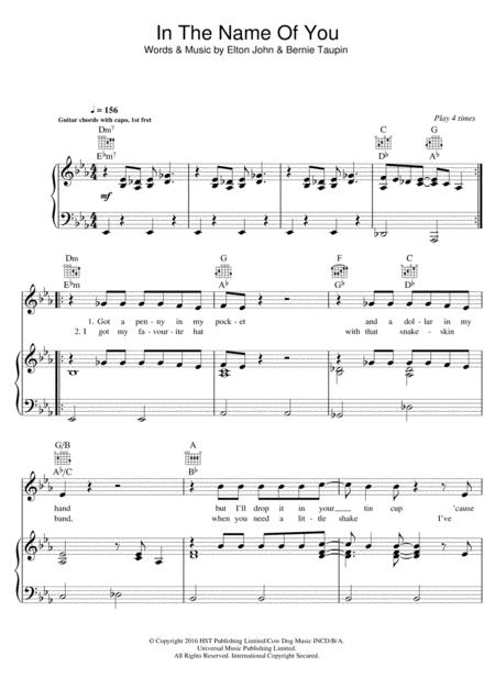 Download Digital Sheet Music of john newman for Piano, Vocal and Guitar