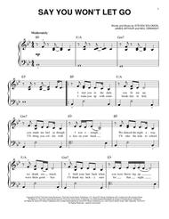 Download Digital Sheet Music of Let It Go for Easy Piano