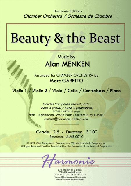 Alan Menken - String Orchestra - sheet music books scores