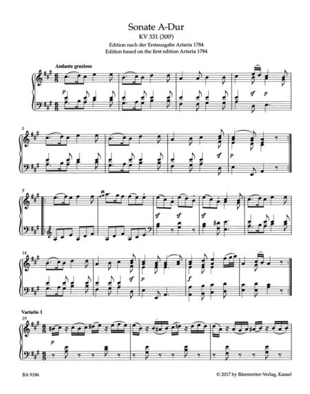A brief analysis of mozart sonata k.331 essay