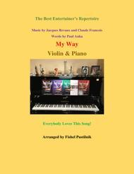 """My Way"" for Violin and Piano sheet music"