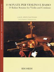 Various  Sheet Music 10 Italian Sonatas Song Lyrics Guitar Tabs Piano Music Notes Songbook