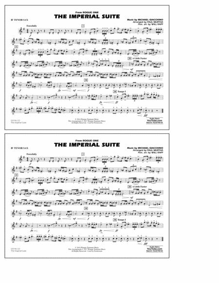 Imperial March sheet music to download and print - World