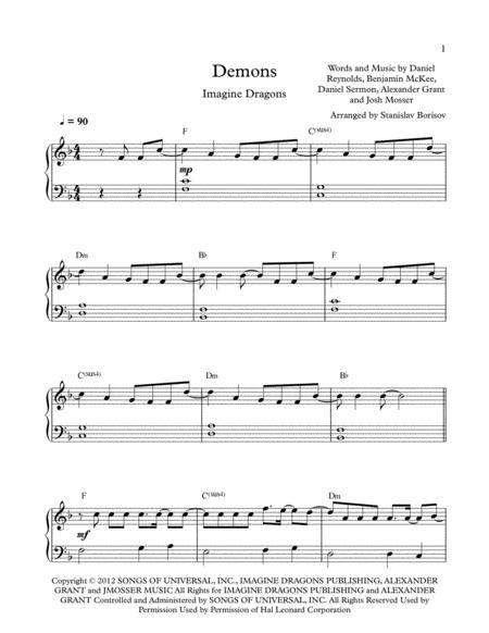 Imagine Dragons Sheet Music Books Scores Buy Online