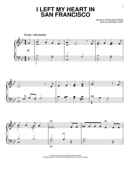 Buy Tony Bennett Sheet music, Tablature, scores