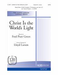 Christ Is the World's Light sheet music