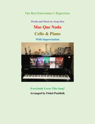 """Mas Que Nada"" for Cello and Piano (With Improvisation) sheet music"