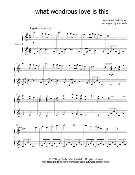 American Folk Hymn sheet music to download and print - World center ...