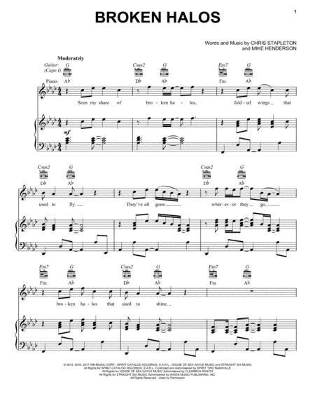 Chris Stapleton sheet music to download and print - World center of ...