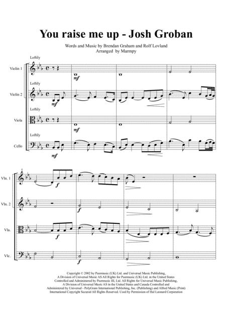 Josh Groban Sheet Music To Download And Print World Center Of