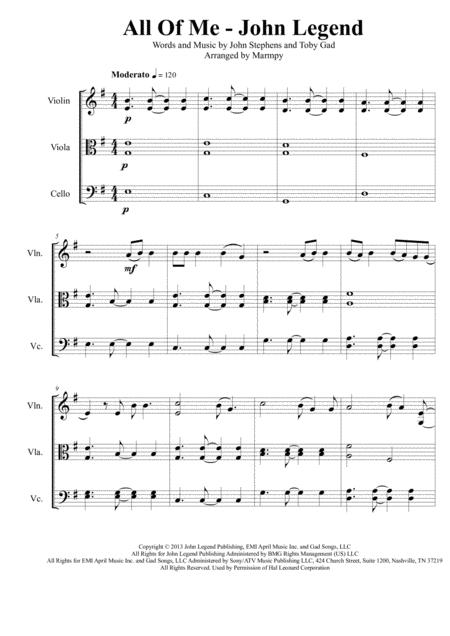 John Legend Sheet Music To Download And Print World Center Of