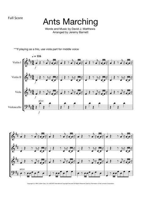 Dave Matthews sheet music to download and print - World center of ...