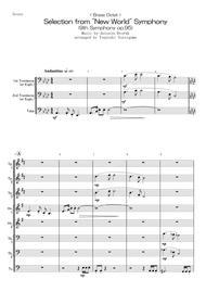 "Antonin Dvorak  Sheet Music < Brass Octet > Selection from ""New World"" Symphony (9th Symphony op.95) Song Lyrics Guitar Tabs Piano Music Notes Songbook"