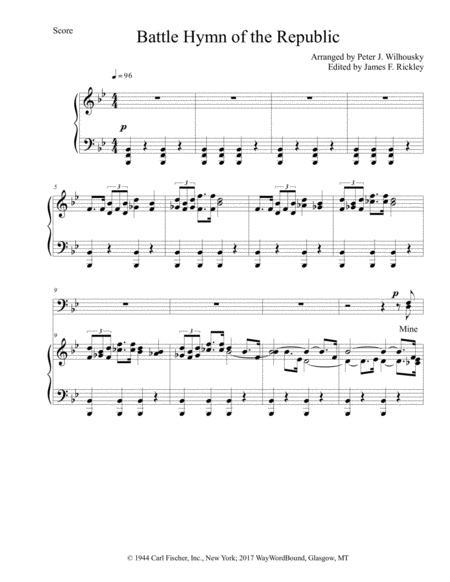Battle Hymn Of The Republic (SATB). Partitions pour ...