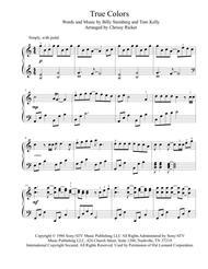True Colors sheet music