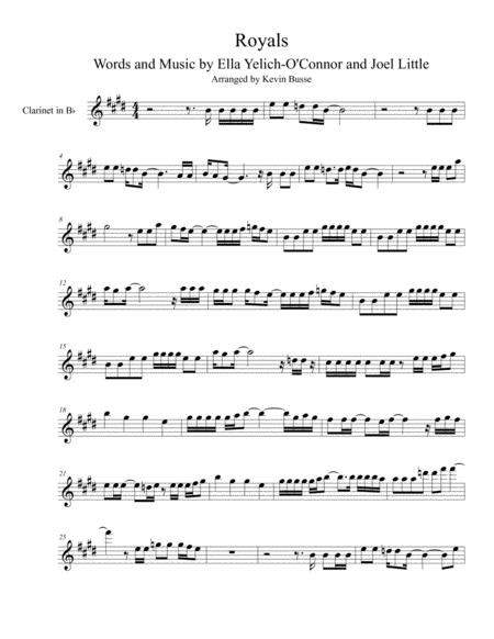 Lorde sheet music to download and print - World center of digital ...