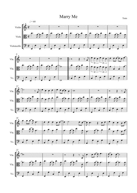 Download Digital Sheet Music for String Trio: violin, viola, cello