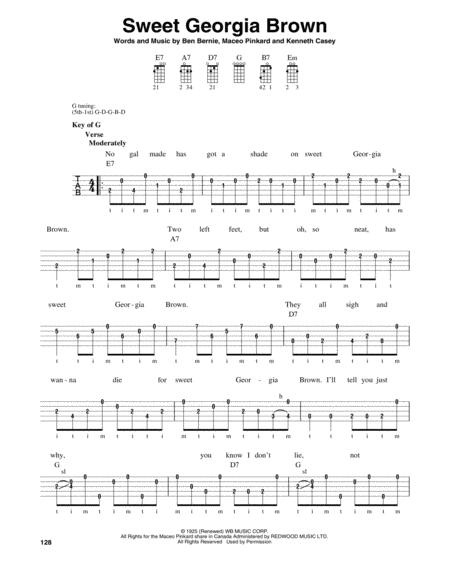 Sweet Georgia Brown Sheet Music To Download And Print World Center