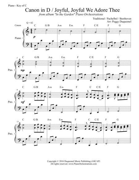 canon in d piano version free mp3 download