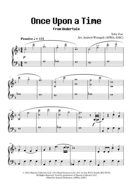 Toby Fox - Partitions musicales à imprimer - Mondial de la partition