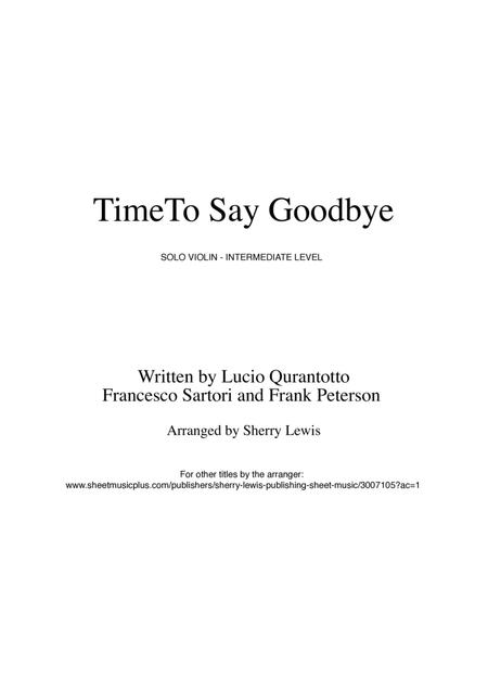 free download pdf time to say goodbye