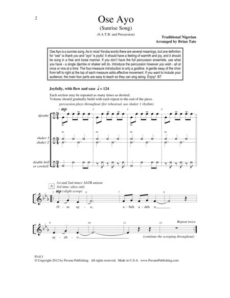Download Digital Sheet Music of Carla Bruni for Choral