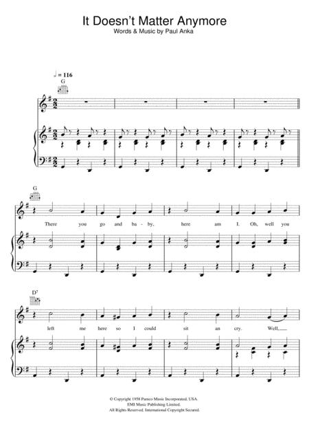 Buddy Holly sheet music to download and print - World center