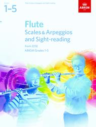 Flute Scales & Arpeggios and Sight-Reading - Grades 1-5 (2018) sheet music