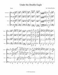 Under The Double Eagle March - Tuba/Euphonium Quartet sheet music