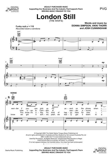 Partitions digitales de piano et voix pour piano voix et guitare - Guitare simpson ...