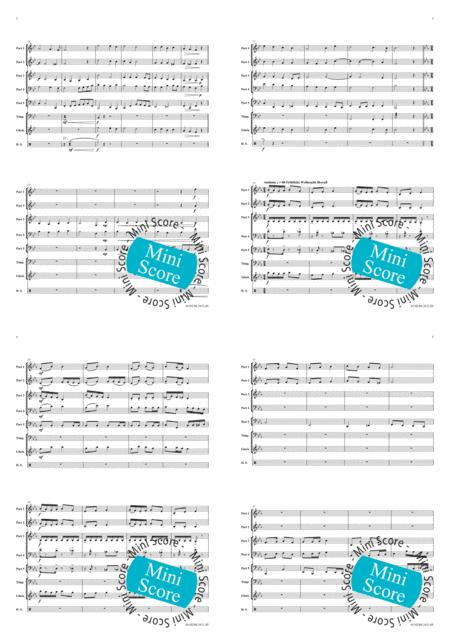Christmas for Five sheet music