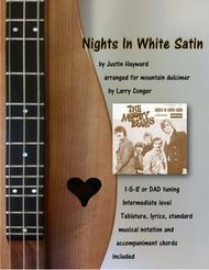 Nights In White Satin sheet music