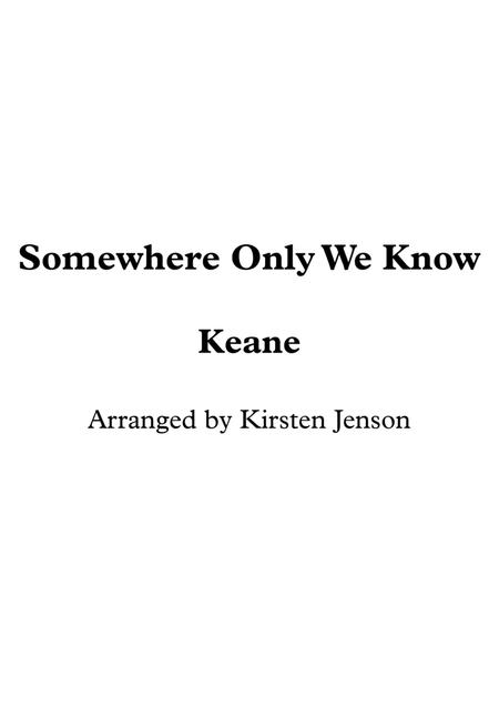 Keane sheet music to download and print - World center of digital ...