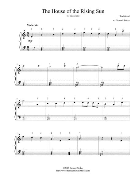 Traditional Traditional House Of The Rising Sun Sheet Music To Download And Print World Center Of Digital Sheet Music Shop,Bathroom Wall Art Ideas Diy