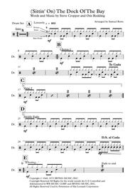 (Sittin' On) The Dock Of The Bay (Drums) sheet music