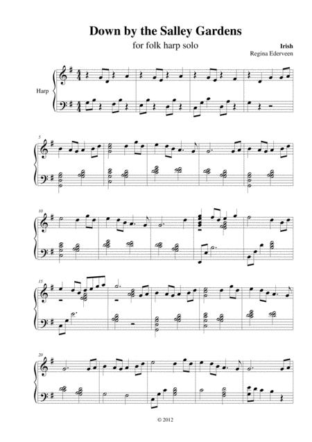 cover large file - Down By The Salley Gardens Britten Sheet Music Pdf