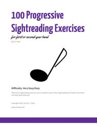 Eric Drew  Sheet Music 100 Progressive Sightreading Exercises for Band Song Lyrics Guitar Tabs Piano Music Notes Songbook