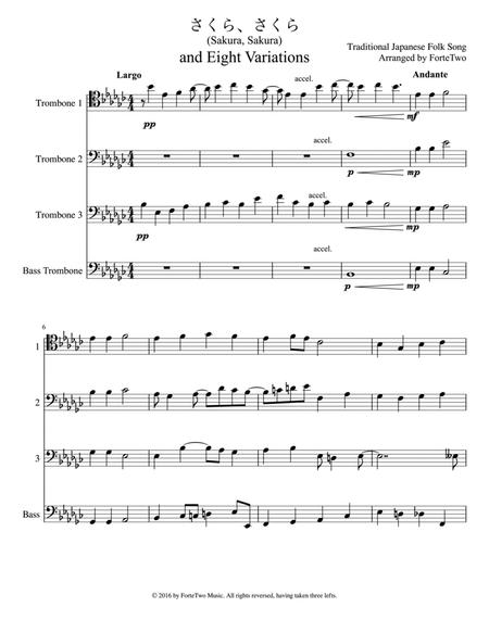 Download Digital Sheet Music of jojo for Brass Quartet: 4