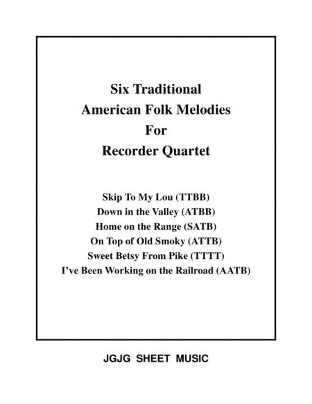recorder traditional sheet music to download and print