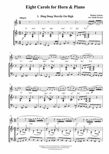 Digital Sheet Music for French Horn
