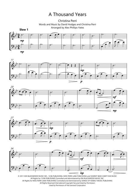 Download Digital Sheet Music for Violin, Cello (duet)