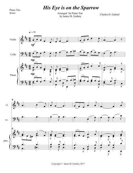 image regarding Free Printable Gospel Sheet Music for Piano identify Obtain Electronic Sheet New music for Piano Trio: piano, violin