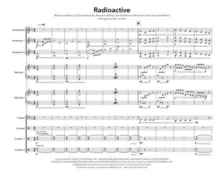 Imagine Dragons - Partitions musicales à imprimer - Mondial