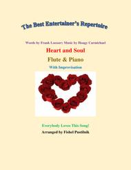 """Heart And Soul"" for Flute and Piano (With Improvisation) sheet music"
